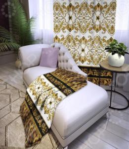 Плед флисовый ТамиТекс Royal white