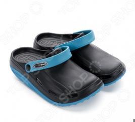 Клоги Walkmaxx Fit 2.0. Цвет: черный, синий