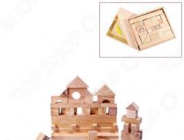 Конструктор деревянный PAREMO «Домик» в деревянном ящике