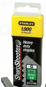 "Скоба для степлера STANLEY 6 мм тип ""G"" (4/11/140)"