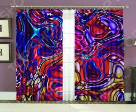Комплект фотоштор «Лиловое стекло»