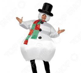 Костюм надувной Просто-Полезно «Снеговик»