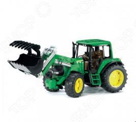 Трактор с погрузчиком Bruder John Deere 6920