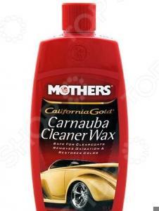 Полироль-очиститель с воском карнаубы Mothers MS05701 California Gold