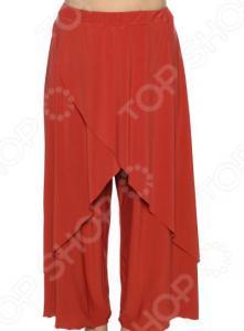 Юбка-брюки Pretty Woman «Крылья Пегаса». Цвет: кирпичный