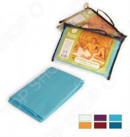 Полотенце-простыня банное вафельное Банные штучки цветное, однотонное. В ассортименте