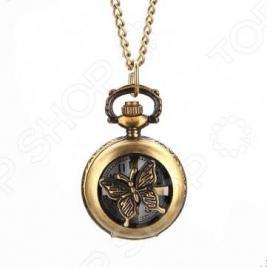Кулон-часы Mitya Veselkov «Медальон-мотылек»