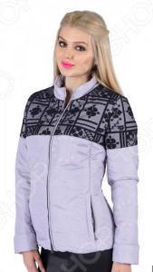 Куртка D`imma «Женева». Цвет: сиреневый