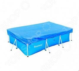 Чехол защитный для бассейна прямоугольного на стойках Bestway 58105