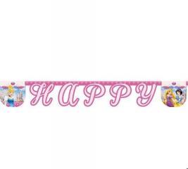 Гирлянда детская Procos «Принцессы Дисней-Happy Birthday»