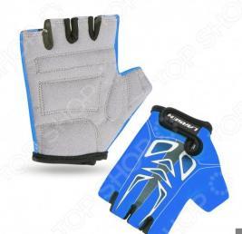 Велоперчатки детские Larsen 01-2766. Цвет: синий