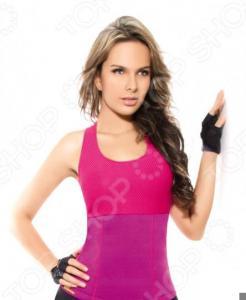 Футболка для похудения HOT SHAPERS. Цвет: розовый