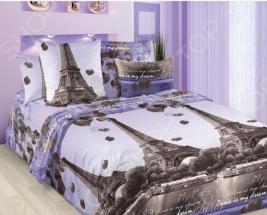 Комплект постельного белья ТексДизайн «Романтика Парижа». 2-спальный