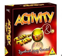Игра настольная для компании Piatnik «Activity + Tик Так Бумм»