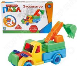 Конструктор игровой для ребенка 1 Toy «Экскаватор»