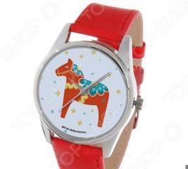Часы наручные Mitya Veselkov «Скандинавская лошадка» Gold