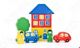 Конструктор для малышей Томик «Цветной городок»