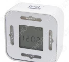 Часы-будильник «4 в 1»