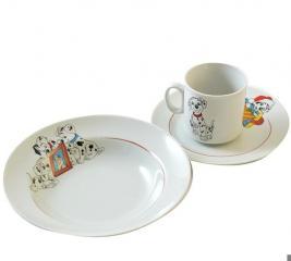 Набор посуды Коралл 4С0496/1Ф34 «Далматинцы»