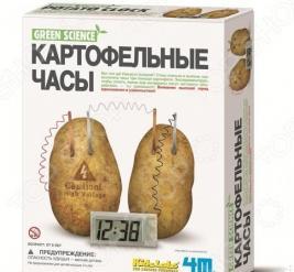Набор для изобретателей 4M «Часы картофельные»