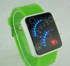 Часы бинарные 31 ВЕК «Неоновые точки» L002. В ассортименте