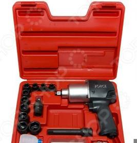 Набор инструмента: пневмогайковерт с ударными головками Force F-4142-4