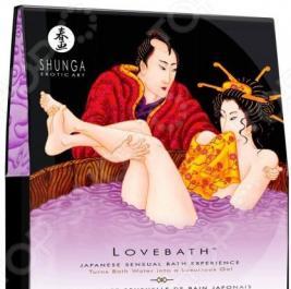 Гель для ванны релаксирующий Shunga «Чувственный лотос»
