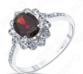 Кольцо «Королевский подарок». Модель: гранат