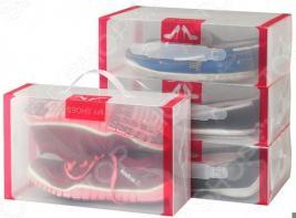 Набор коробок для хранения обуви EL Casa 30х18х10 см