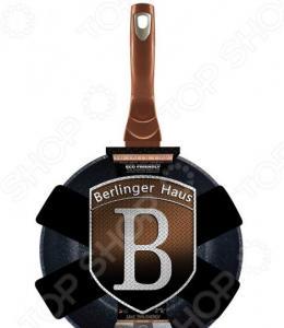 Сковорода вок Berlinger Haus Rosegold Noir Metallic