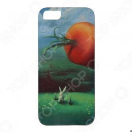 Чехол для iPhone 5 Mitya Veselkov «Заяц и морковка»