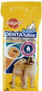 Лакомство для щенков Pedigree Denta Tubos Junior