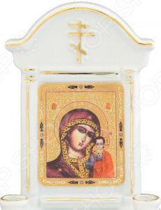 Икона с молитвой Elan Gallery «Казанская божья матерь»