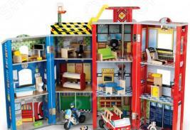 Набор игровой для мальчика KidKraft «Здание спасательной службы»