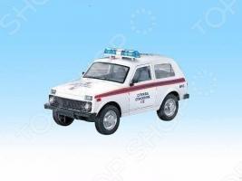 Машина инерционная Joy Toy «Нива ВАЗ 2121 МЧС» Р40520