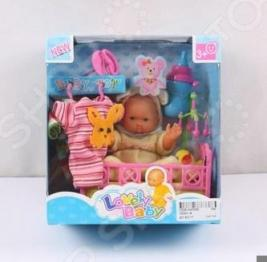 Пупс с аксессуарами Lovely Baby 1707303