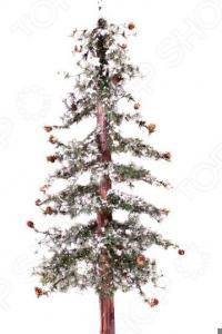 Ель искусственная Crystal Trees «Закарпатская с маленькими шишками»