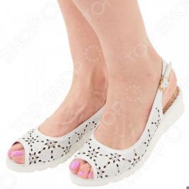 Туфли EGO «Комфорт». Цвет: белый