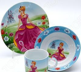 Набор посуды для детей Mayer&Boch «Принцесса» MB-23393