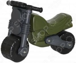 Каталка детская Wader с наклейками «Моторбайк военный»