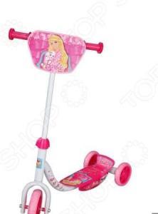 Самокат детский 1toy Barbie Т56921