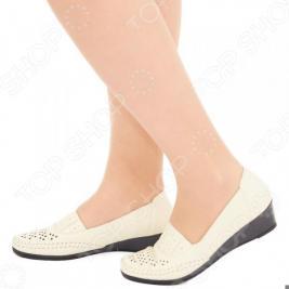 Туфли EGO «Графиня». Цвет: бежевый