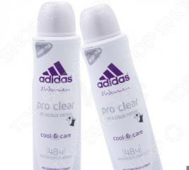 Дезодорант-спрей женский Adidas Cool&Care Pro clear
