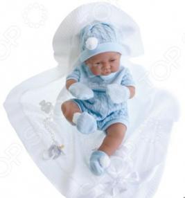 Кукла-мальчик Munecas Antonio Juan «Тони в голубом»