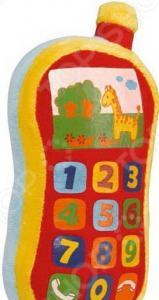 Мягкая игрушка со звуковыми эффектами Simba «Плюшевый телефон»