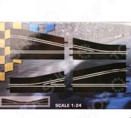 Дополнения к треку Carrera «Прямая со сходящимися полосами трассы, правая»