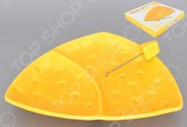 Тарелка для сыра Elan Gallery «Сыр» 110723