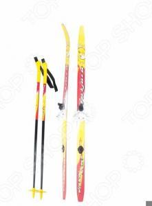 Комплект лыжный с палками и креплениями Karjala Snowstar