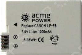 Аккумулятор для фотоаппарата AcmePower AP-LP-E8