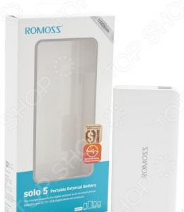 Внешний аккумулятор Romoss Solo 5